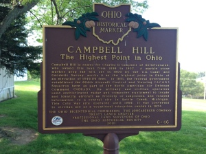 Historical Marker detailing the site