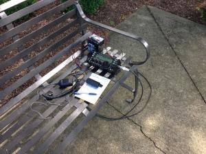 Set up on bench using my KX-3